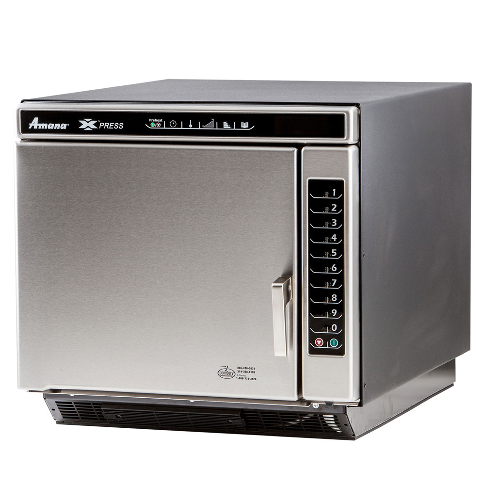 Amana ACE14V Quarter-Size Countertop Convection Oven, 208-240v/1ph