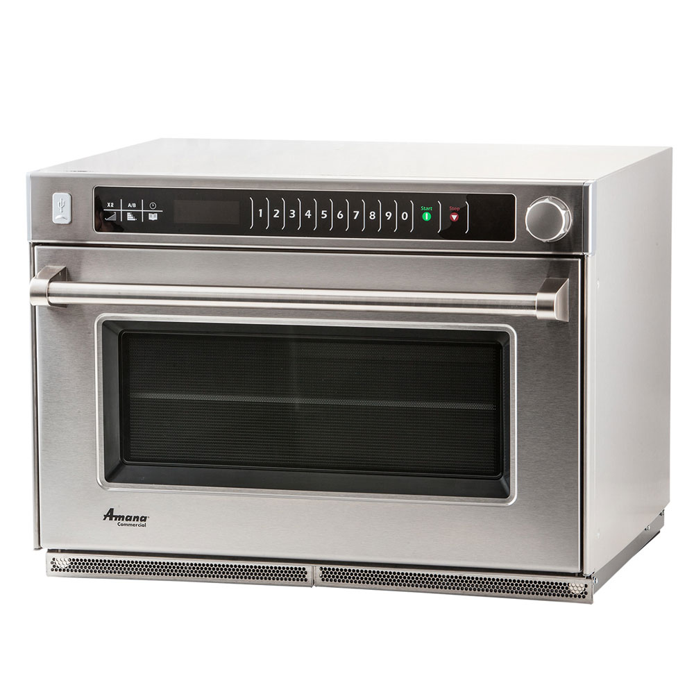 Amana AMSO35 3500w Commercial Steamer Microwave Oven w/ Touch Pad, 240v/1ph
