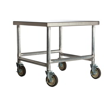 "Amana CA24 Cart w/ Casters, Stainless Top & Aluminum Frame, 24 x 26 x 26"" D"