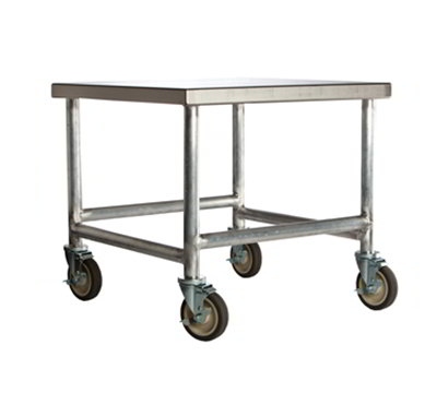 Amana CA30 Cart w/ Casters, Stainless Top & Aluminum Frame, 30 x 26 x 26-in D