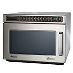 Amana HDC12A2 1200w Commercial Microwave with Touch Pad, 120v