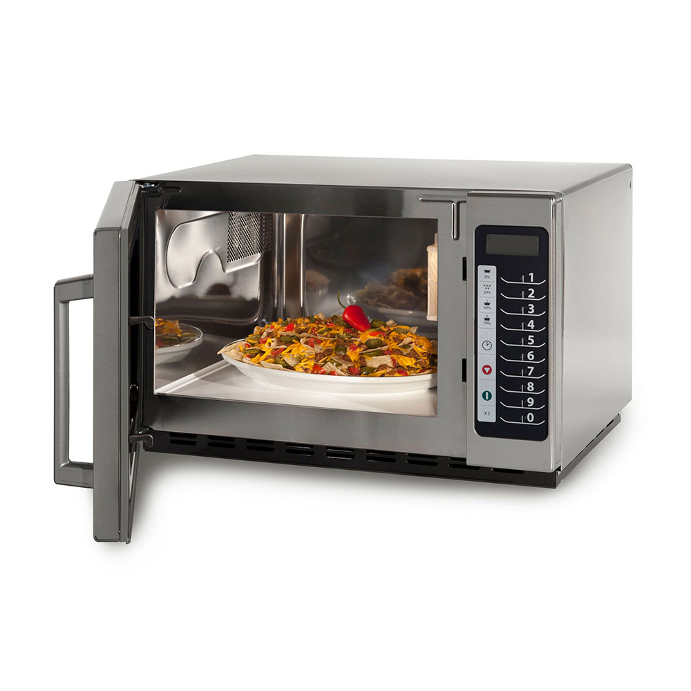 Amana RCS10TS 1000w Commercial Microwave w/ Touch Pad, 120v