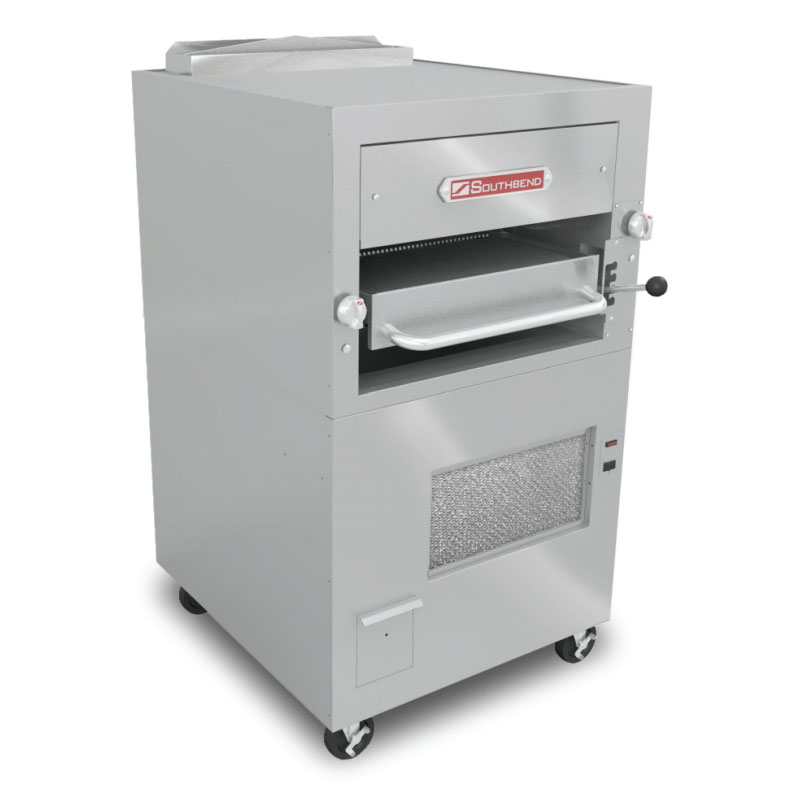 """Southbend 170 Free Standing 1"""" Infrared Deck-Type Broiler w/ Enclosed Base, LP"""