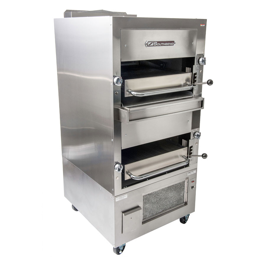 Southbend 234RNG Radiant Broiler, Double Deck, Stainless w/ Aluminum Back, NG