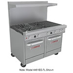 "Southbend 4481EE-2CL 48"" 4-Burner Gas Range with Charbroiler, LP"