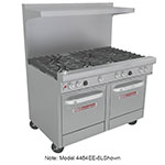 "Southbend 4484EE-2CL 48"" 4-Burner Gas Range with Charbroiler, LP"