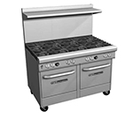 "Southbend 4484EE-2CL 48"" 4-Burner Gas Range with Charbroiler, NG"