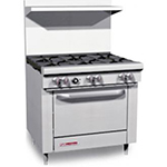 "Southbend 4605AA-2TL 60"" 5-Burner Gas Range with Griddle, NG"