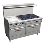 "Southbend 4606AA-2TL 60"" 5-Burner Gas Range with Griddle, NG"