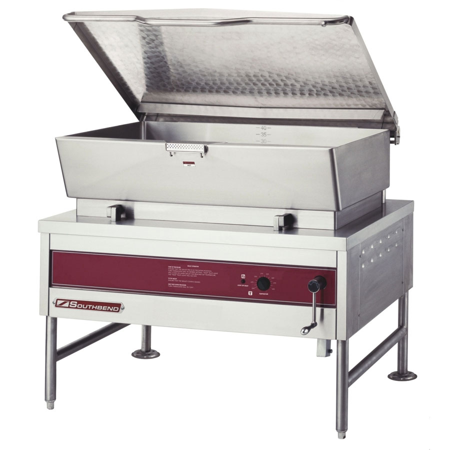 Southbend BGLM-40 40-galTilting Braising Pan w/ Manual Tilt, Stainless, LP