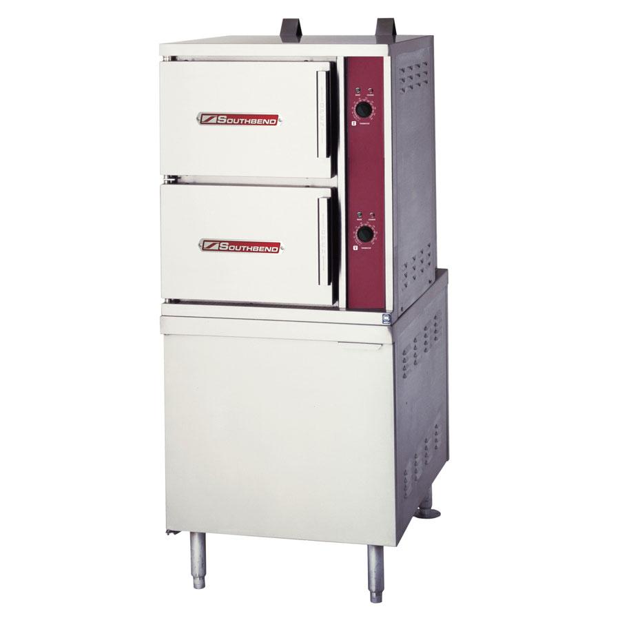 Southbend GCX-10S Gas Floor Model Steamer w/ (10) Full Size Pan Capacity, LP