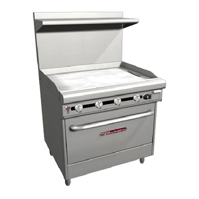 "Southbend H436A-3G 36"" Gas Range with Griddle, NG"