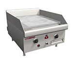 "Southbend HDG-72-M 72"" Countertop Griddle, 1"" Steel Plate, Manual Controls, NG"