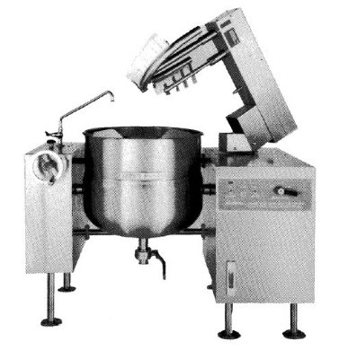 Southbend KDMTL-100 100-gal Direct-Steam Tilt-Type Kettle Mixer, 2/3-Jacket