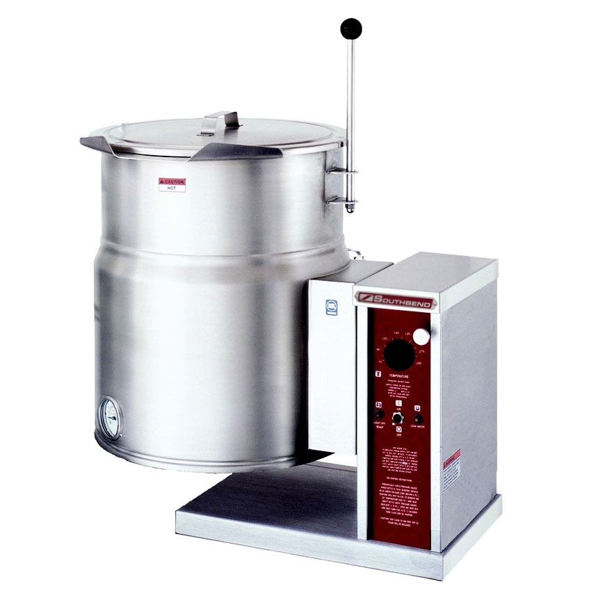 Southbend KECTC-12 12-gal Table Tilting Kettle w/ Right Crank Tilt, 2/3-Jacket, 208v/60/3ph
