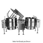 Southbend KEMTL-40-2 Twin 40-gal Direct Tilt-Type Kettle Mixer, 2/3-Jacket, 208v/3ph