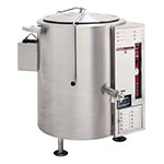 Southbend KSLG-100 100-gal Stationary Kettle, Thermostatic Control, 2/3-Jacket, LP