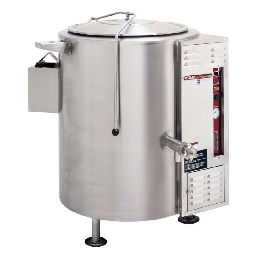 Southbend KSLG-60 60-gal Stationary Kettle, Thermostatic Control, 2/3-Jacket, NG