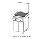 "Southbend P24N-CC 24"" Gas Range with Charbroiler, LP"
