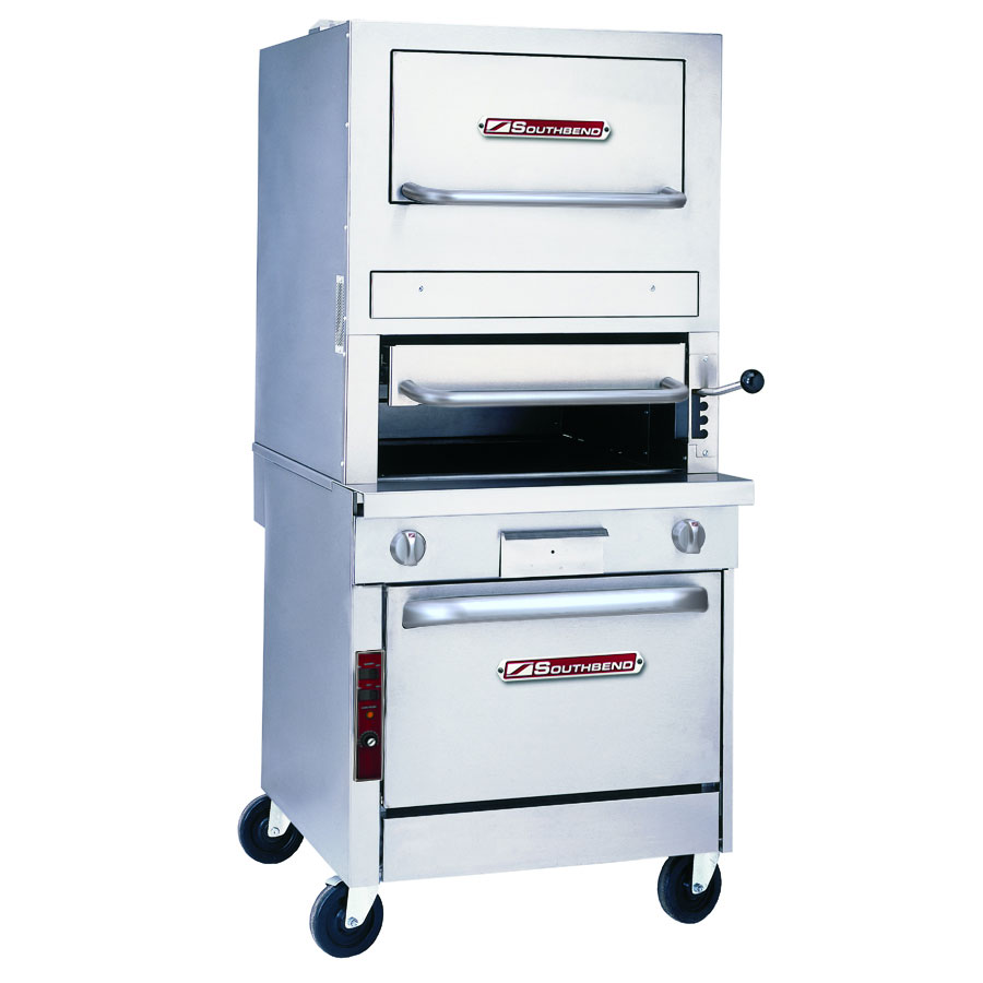 "Southbend P32A-171 32"" Platinum 1-Deck Broiler w/ Infrared Burner, Convection Oven, LP"