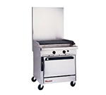 "Southbend P32A-CC 32"" Gas Range with Charbroiler, NG"