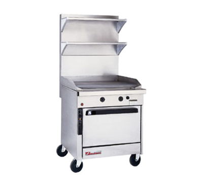 "Southbend P32A-GG 32"" Gas Range with Griddle, LP"