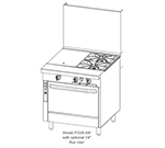 "Southbend P32A-HC 32"" Gas Range with Hot Top & Charbroil"