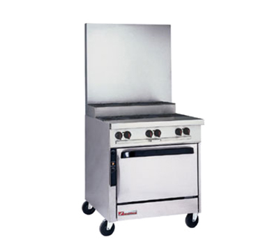 "Southbend P32N-BBB-SU 32"" 6-Burner Gas Range, Step-up, NG"