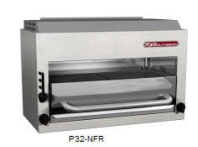 Southbend/Hussman P36-RAD Platinum Compact Radiant Broiler 32 in 4 Burner SS 40,000 BTU Restaurant Supply