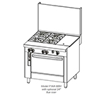 "Southbend P36D-TTC 36"" Gas Range with Griddle & Charbroiler, NG"