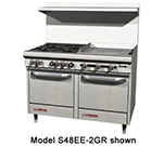 "Southbend S48EE-4T 48"" Gas Range with Griddle, LP"