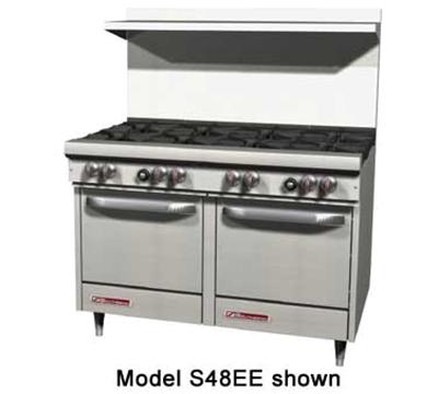 """Southbend S48EE 48"""" 8-Burner Gas Range, LP"""