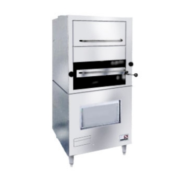 Southbend 171 NG 1-Infrared Deck-Type Broiler w/ Enclosed Based & Warming Oven, NG