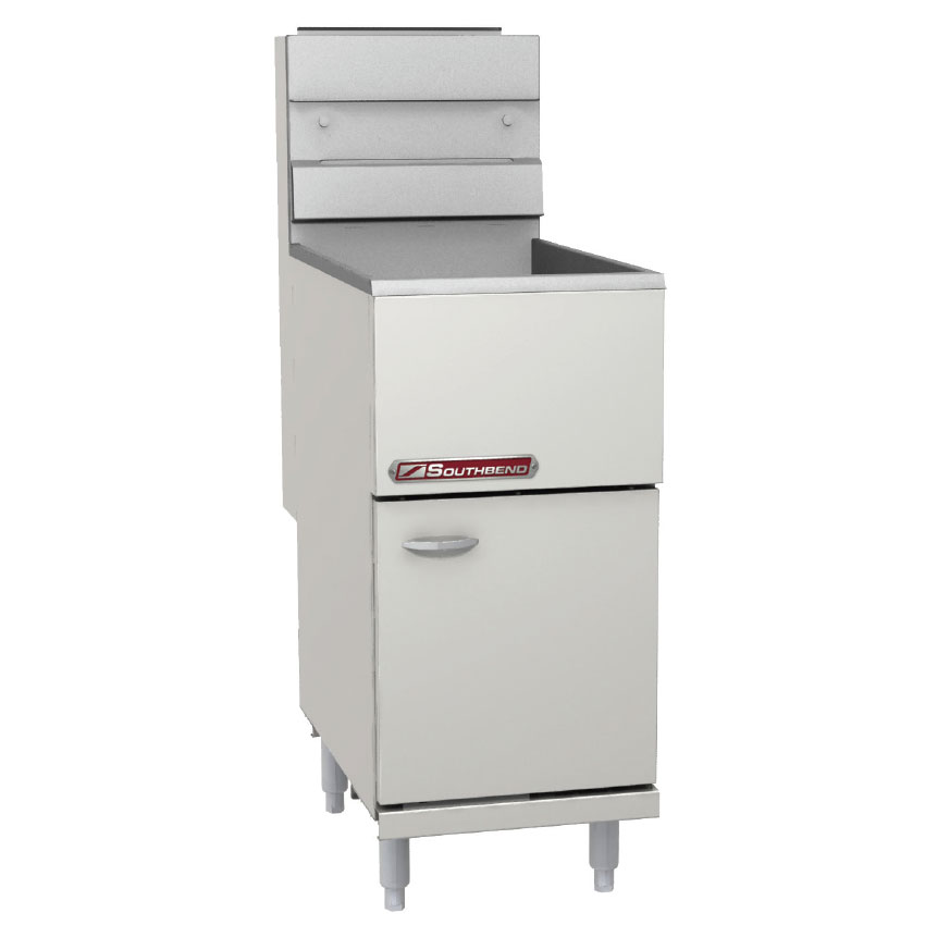 Southbend SB45S Gas Fryer - (1) 50 lb. Vat, Floor Model, LP