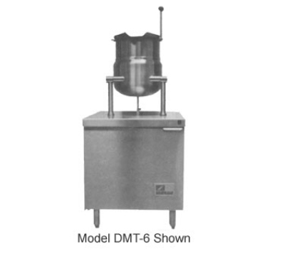 Southbend DMT-6 6-Gallon Direct Tilting Kettle, 2/3-Jacket, Stainless, 115 V