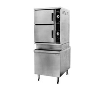 Southbend ECX-10S 2083 2-Compartment Convection Steamer, 10-Pan, 24-in Cabinet, 208/3 V
