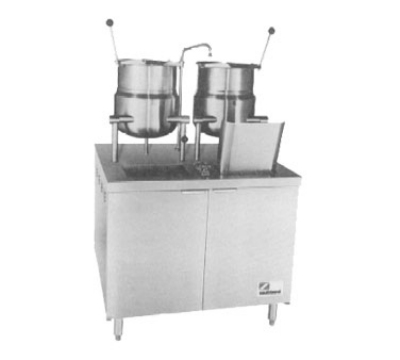 Southbend EMT-6-6 2403 36-in Standard Cabinet Assembly & (2) 6-Gallon Kettle, 240/3 V