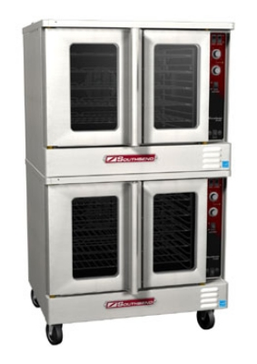 Southbend ES/20SC Double Full Size Electric Convection Oven - 240v/3ph