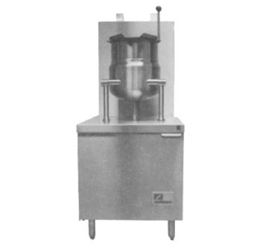 "Southbend GMT-10 24"" Standard Cabinet & 10-Gallon Kettle Assembly, Stainless, LP"