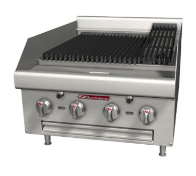 "Southbend HDC-24 24"" Countertop Cast Iron Radiant Charbroiler, Battery Spark Ignition, NG"