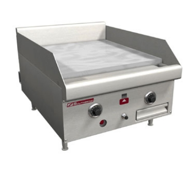 Southbend HDG-24 NG 24-in Countertop Griddle w/ 1-in Steel Plate, 2-Thermostatic Control, NG