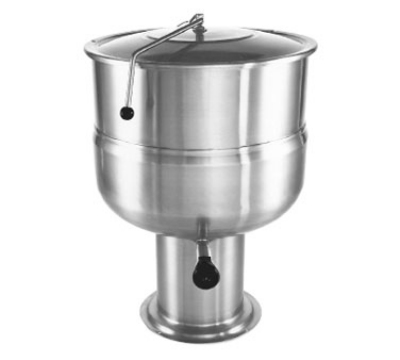 Southbend KDPS-20F 20-Gallon Stationary Kettle, Pedestal, Hinged Cover, Full-Jacket