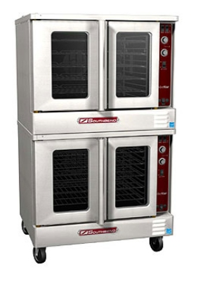 Southbend SLES/20CCH Double Full Size Electric Convection Oven - 240v/3ph