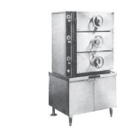 Southbend SC-3S 36-in 3-Compartment Pressure-Type Steam Coil Steamer, Cabinet, 115 V