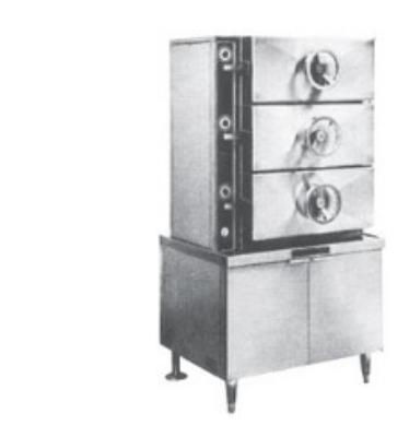 Southbend SC-3S Steam Coil Pressure Steamer w/ (18) Full Size Pan Capacity, 115v