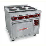 "Southbend SE36A-BBB 36"" 6-Sealed Element Electric Range, 240v/3ph"