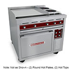 "Southbend SE36A-HHB 36"" 2-Sealed Element Electric Range with (2) Hot Top, 208v/3ph"