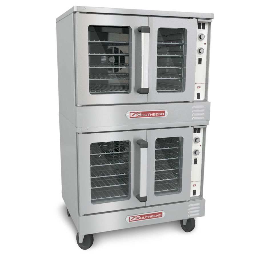 Southbend SLES/20CCH Double Full Size Electric Convection Oven - 240v/1ph