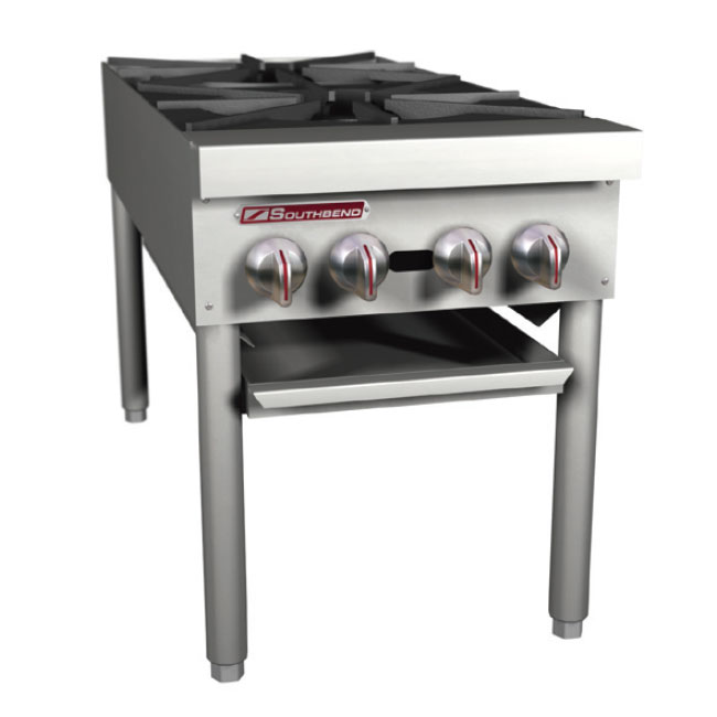 Southbend SPR-2J-FB 2-Burner Stock Pot Range, NG
