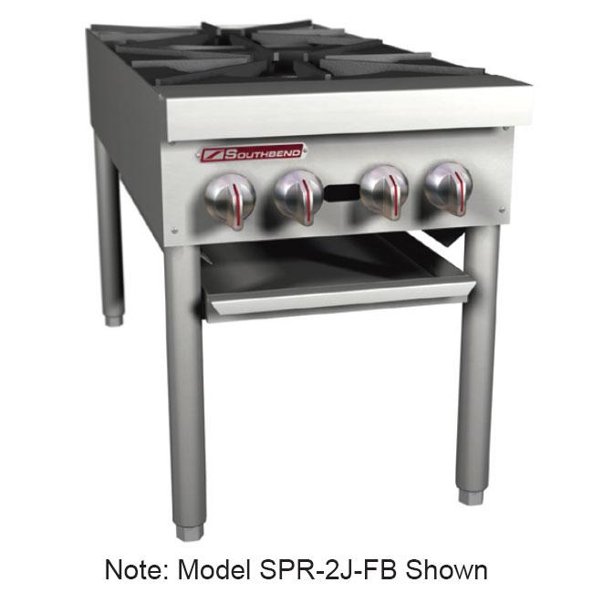 Southbend SPR-2J 2-Burner Stock Pot Range, LP